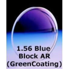 1.56 Blue Block AR (Green Coating)