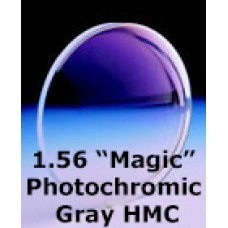 "1.56 ""Magic"" Photochromic Gray HMC"