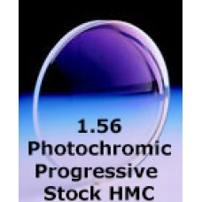1.56 Photochromic Progressive Stock HMC