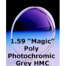 "1.59 ""Magic"" Poly Photochromic Grey HMC"